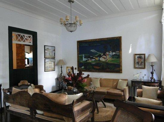 Pousada da Marquesa: sala de estar