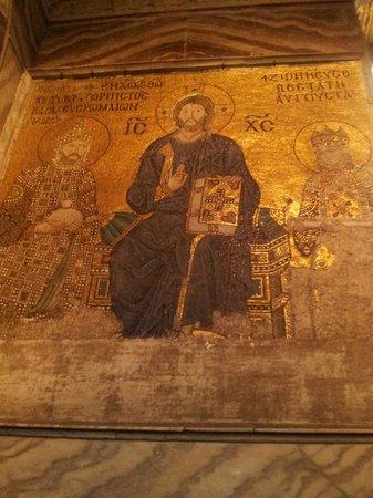 Kucuk Ayasofya Camii (Church of the Saints Sergius and Bacchus): Mosaic in the Church