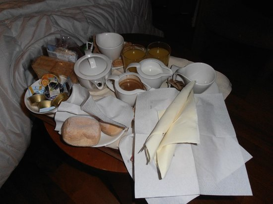 Canada Hotel : Desayuno en la habitación