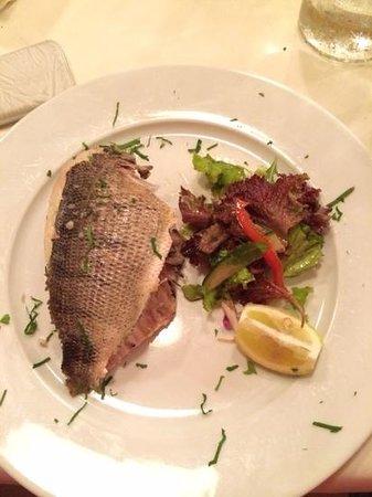 Peperoncino Restaurant: Fisch