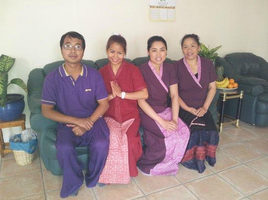 U Sabai Thai Massage: Our Staff