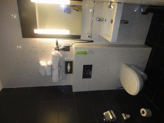 Comfort Hotel Centre Del Mon : salle de bain