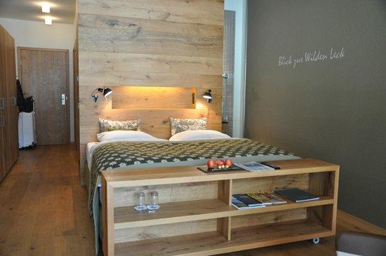 AQUA DOME Hotel: Bett