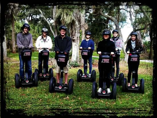 Segway Venice Tour & Rentals: Taking a Break for Photos!