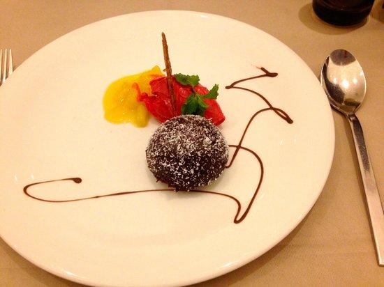 AQUA DOME Hotel : Nachspeise