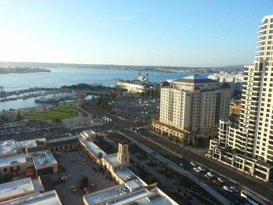 Manchester Grand Hyatt San Diego: La splendida vista sulla baia dalla nostra camera