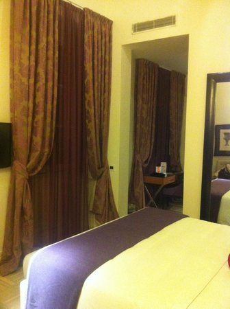Firenze Number Nine Hotel & Spa: camera da letto