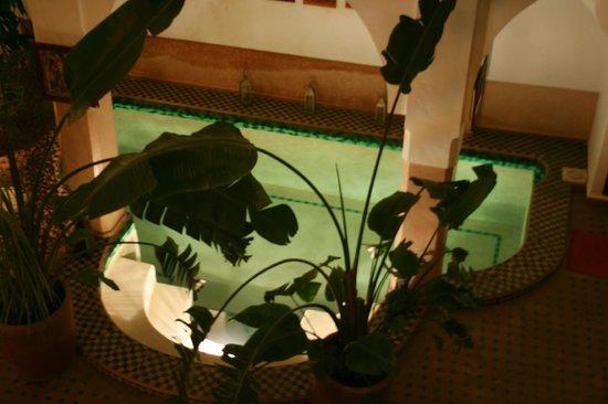 Riad Limouna: Joli bassin dans la patio