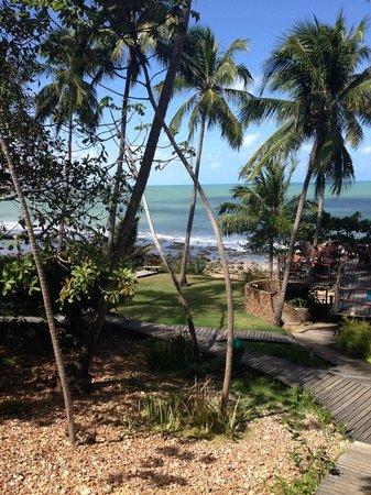 Ponta do Pirambu: Vista para o mar