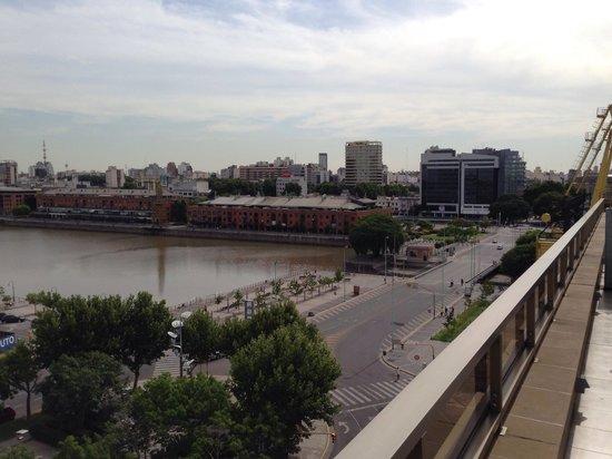 Hotel Madero: Aussicht aus Zimmer 801