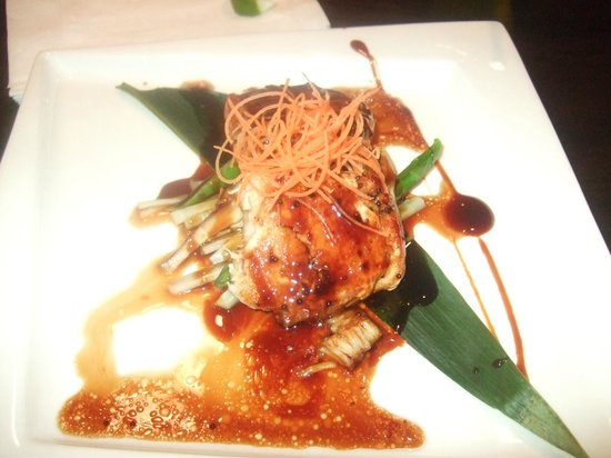 Oishi Asian Cuisine : sea bass