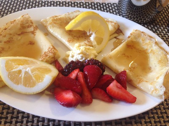 Ambleside Bed & Breakfast : The best pancakes ever!