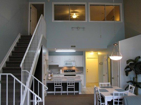 Plantation Resort : Main Living Area, Kitchen, Upstairs Bedroom