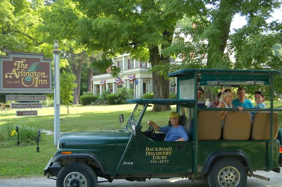 Arlington Inn: Take a Backroad Discovery Tour
