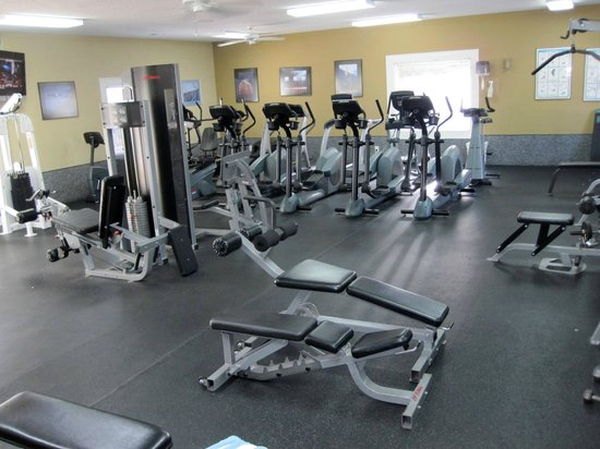Plantation Resort: Surprisingly Well-Equipped Exercise/Weight Room