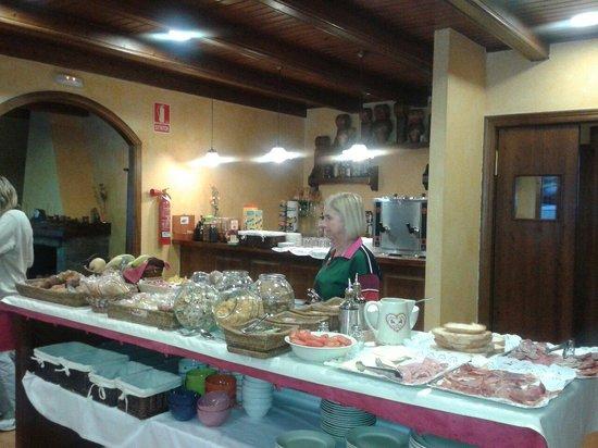 Hotel el Rantiner: DESAYUNO EN HOTEL RANTINER