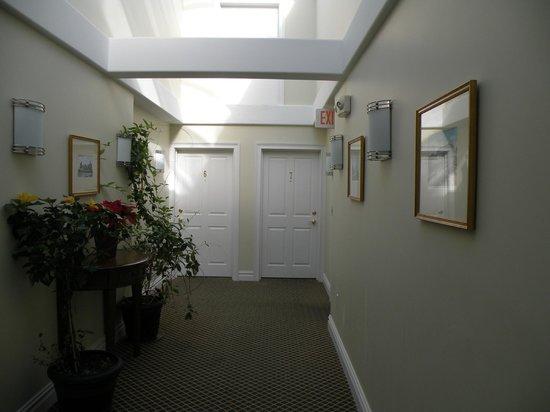 Pelham Court Hotel: El acceso a la número 7 en el primer piso