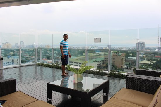 Best Western Plus Lex Cebu: roof top view