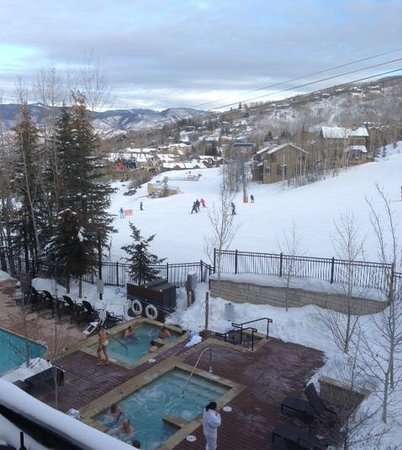 The Westin Snowmass Resort : The view from our room.