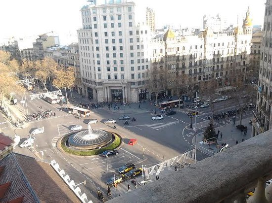Hotel El Avenida Palace: great veiw of the city  from the hotel