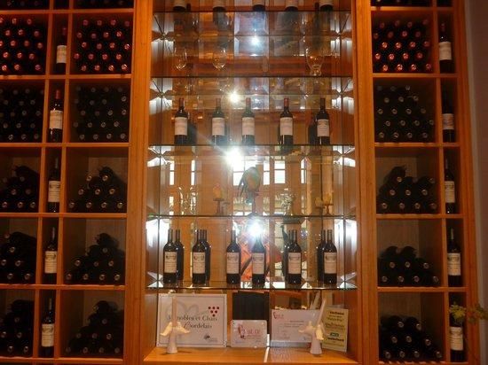 Château Soutard : Exposición de productos