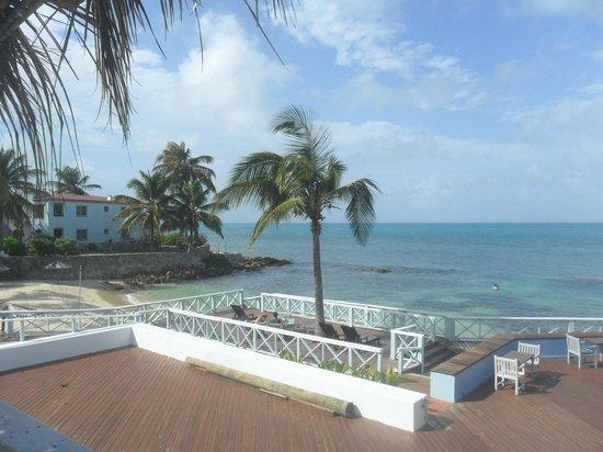 Ocean Point Resort & Spa : il mare visto dalla nostra terrazza