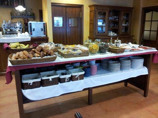 Hotel el Rantiner: Impresionante desayuno