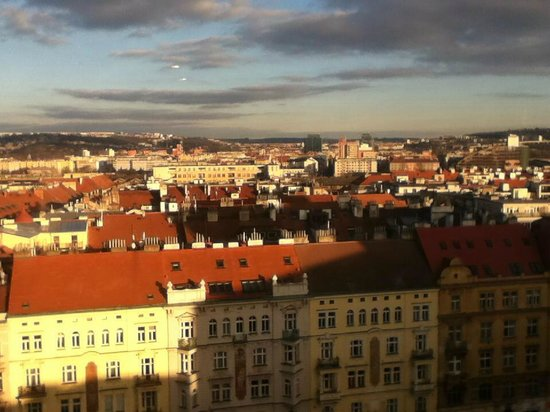Parkhotel Praha: View from 9th floor