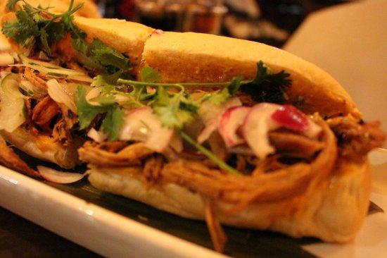 Little Saigon Big Bangkok Restaurant: pork banh mi
