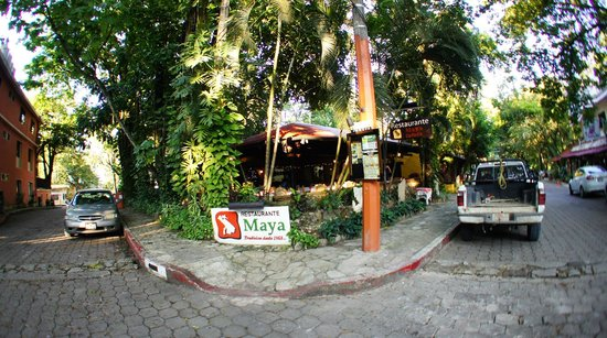 Restaurant Maya Cañada: outside view of the restaurant