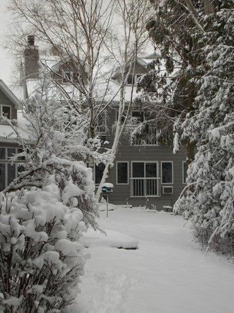 Waterbury Inn: Winter in Door County