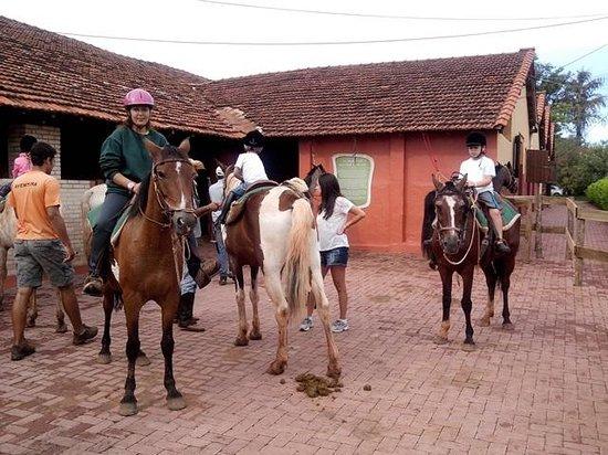 Dourado, SP: passeio a cavalo