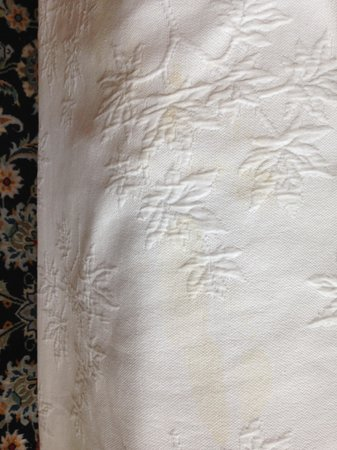 Once Upon a Mountain : Stained Bed Linens