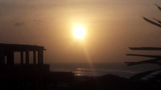 Royal Decameron Boa Vista: Sunset from top bar