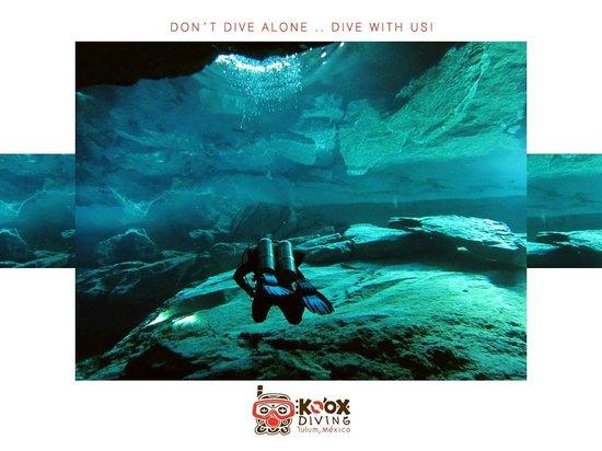Koox Diving: cenotes, ocean, underground rivers, tulum mexico..kooxdiving