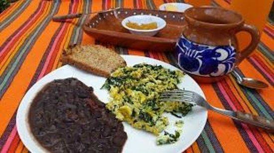 Casa Blat Ha: Desayuno orgánico