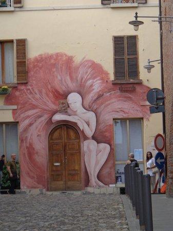 Villa Calanco Country House : Dozza wall mural