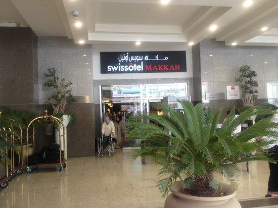 Swissotel Makkah : Entrance