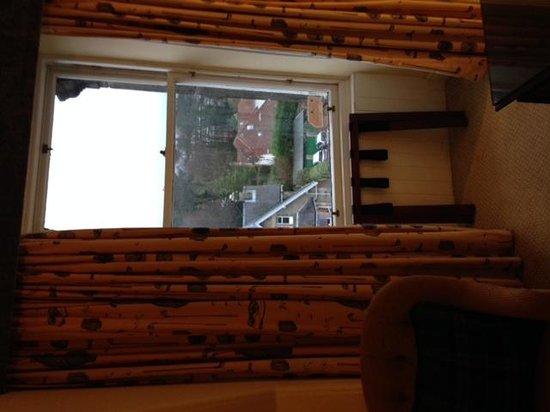 Macdonald Rusacks Hotel: vue en hauteur mais sur la route
