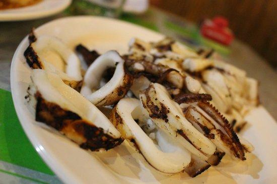 D'Talipapa: GRILLED SQUID BBQ