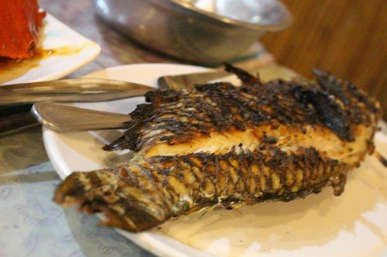 D'Talipapa: grilled bbq fish