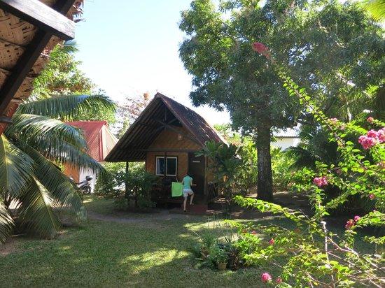 Fare Vaihere : bungalow jardin