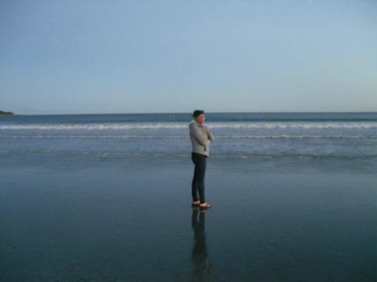 Easton's Beach : Windy