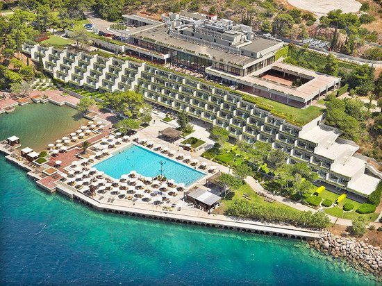The Westin Athens Astir Palace Beach Resort: The Westin Athens Aerial View