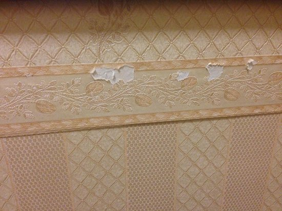 Ramada Crawley Gatwick: The nice wallpaper...