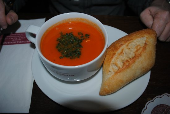 Bremer Ratskeller: Zuppa di pomodoro