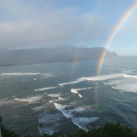 St. Regis Princeville Resort : double rainbow