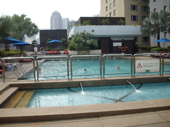 PARKROYAL Kuala Lumpur: very relaxing, perfect, after a lot of shopping .