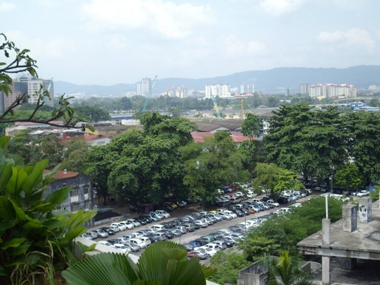 PARKROYAL Kuala Lumpur: view of some hills from the window