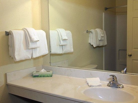 Tuscaloosa Extended Stay Hotel: BKYStudio Bathroom
